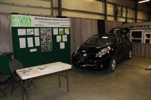 Nissan Leaf At the Fall Home Show
